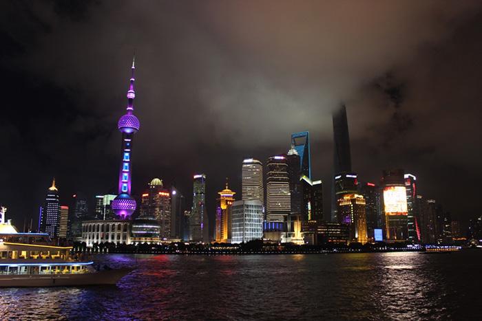 Skyline-Shanghai-bei-Nacht