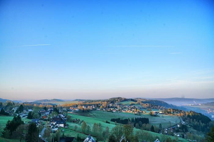 Sonnenaufgang-Vogtland