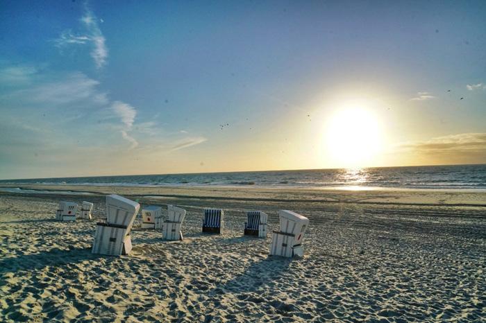 Sonnenuntergang-Sylt
