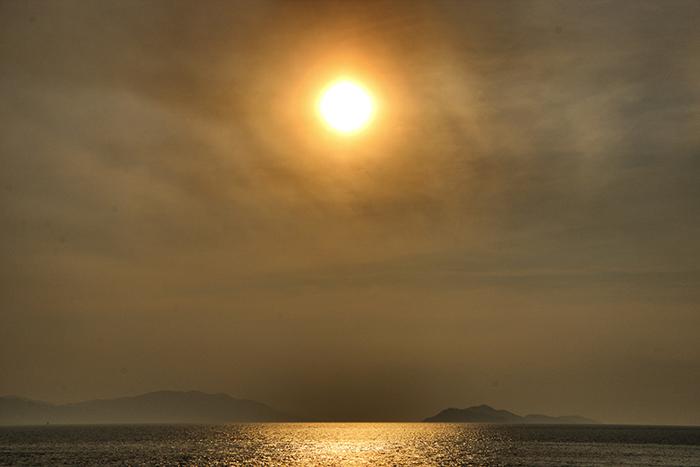 Sonnenuntergang-Pura Vida