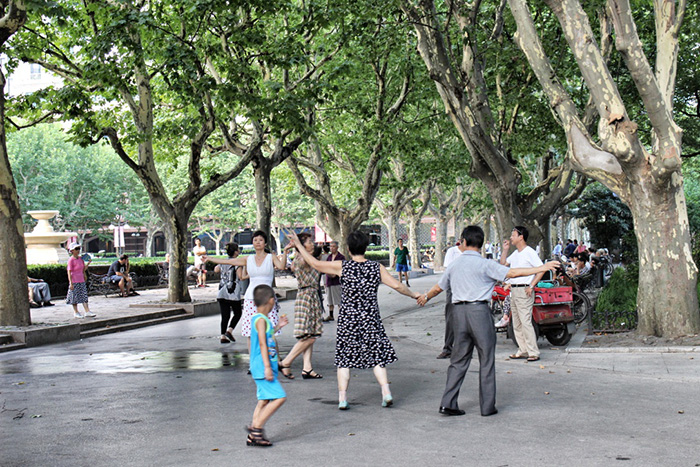 Tanzkurs-Peoples-Park-Shanghai
