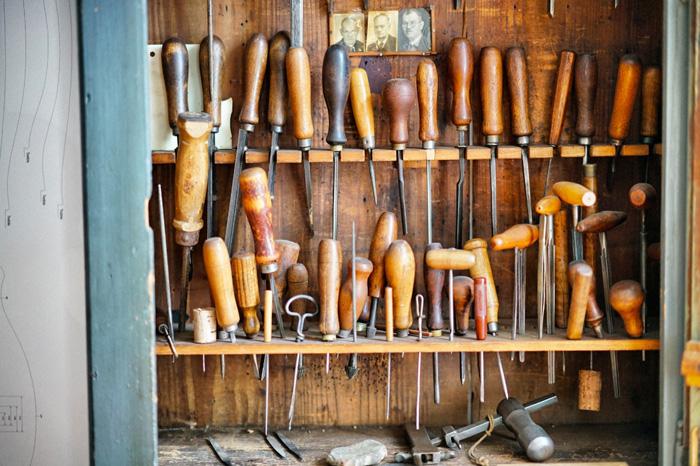 Werkzeug-Erlebniswelt-Musikinstrumentenbau