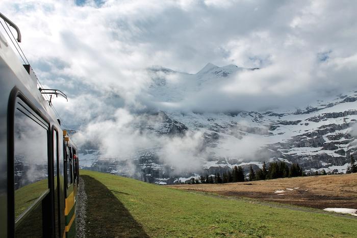 Bahn Jungfraujoch