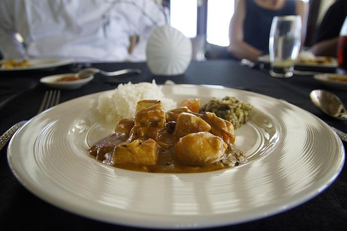 Fisch Curry