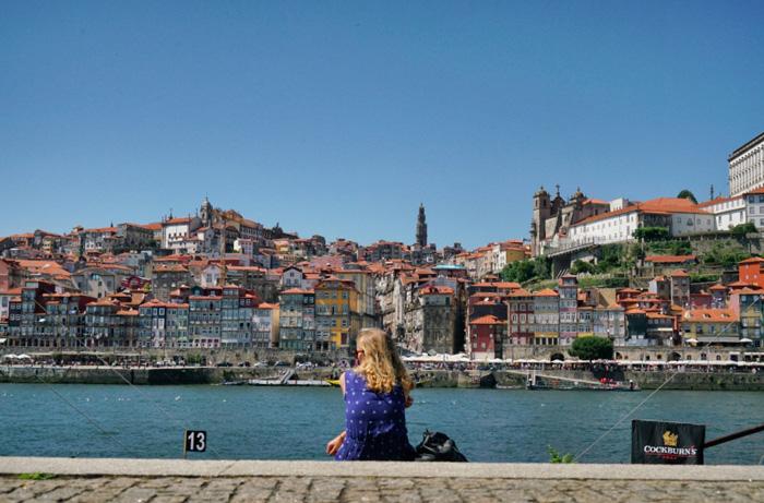 Flussufer-Porto