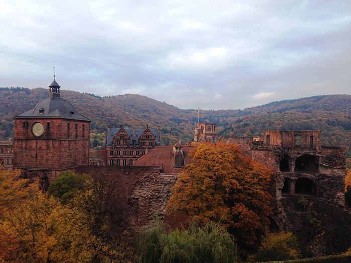 Heidelberger-Schlossruine