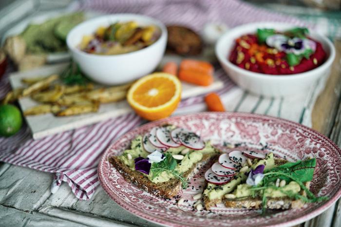 Hummus-Brot