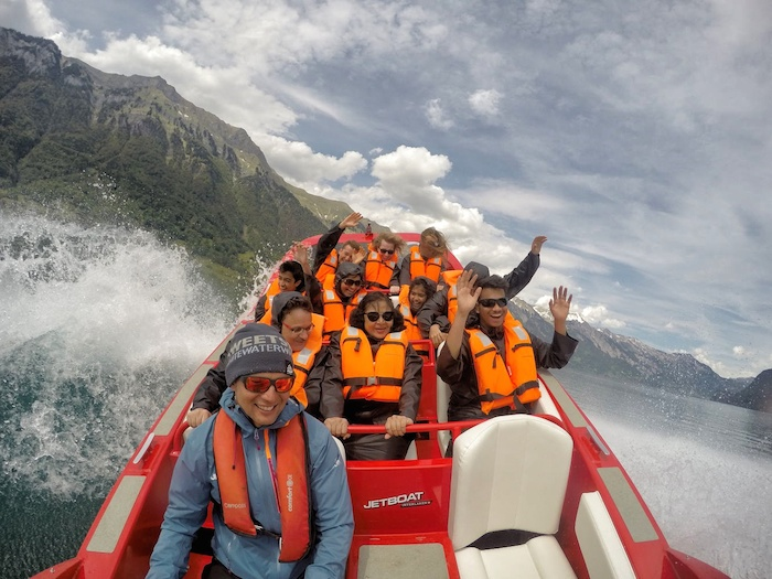 Jetboat Interlaken See