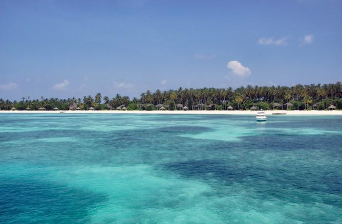 Malediven Ausblick Kanifushi