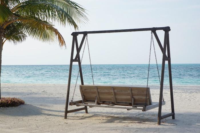 Malediven Sitzbank