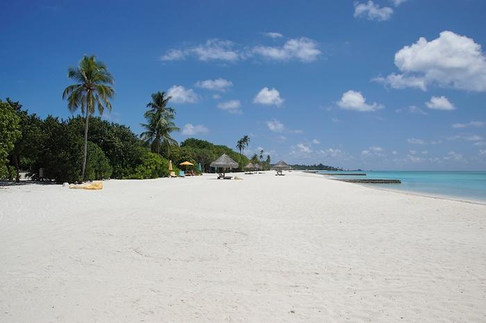 Malediven Strandabschnitte