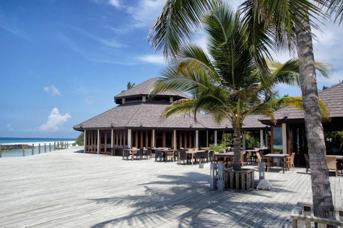 Malediven Terrasse