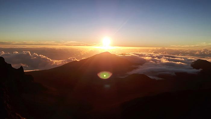 Hawaii-Insel Maui Sonnenaufgang2