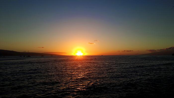 Maui-Road-to-Hana-Sonnenuntergang