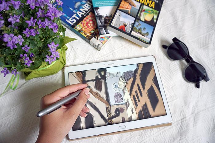Städtereisen in Italien - tablet2-mit hand-klein