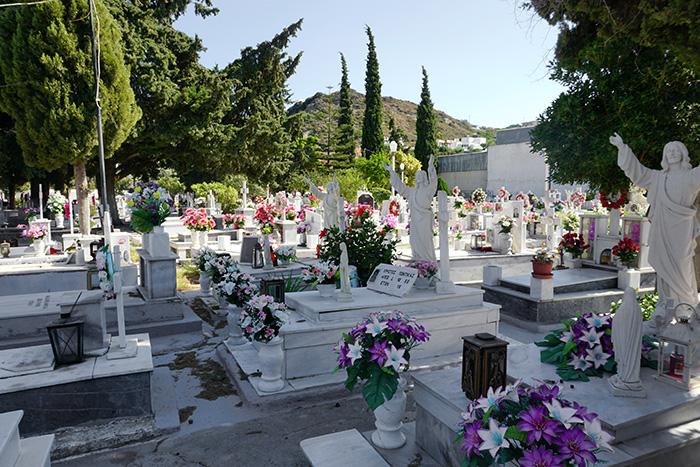 Afantou-Friedhof-Jesus