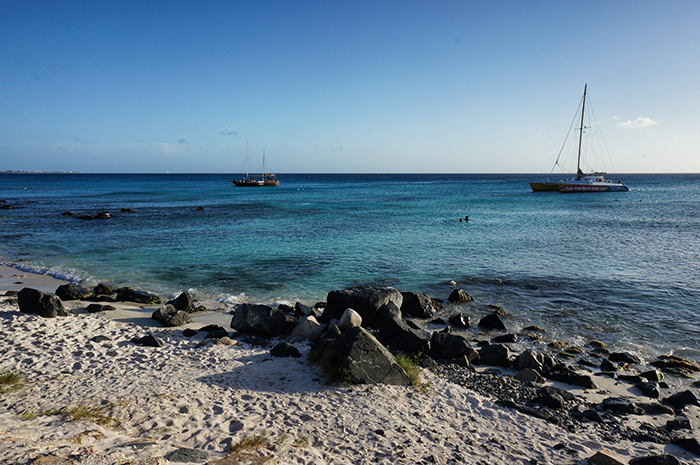 Urlaub auf Aruba-Katamaran