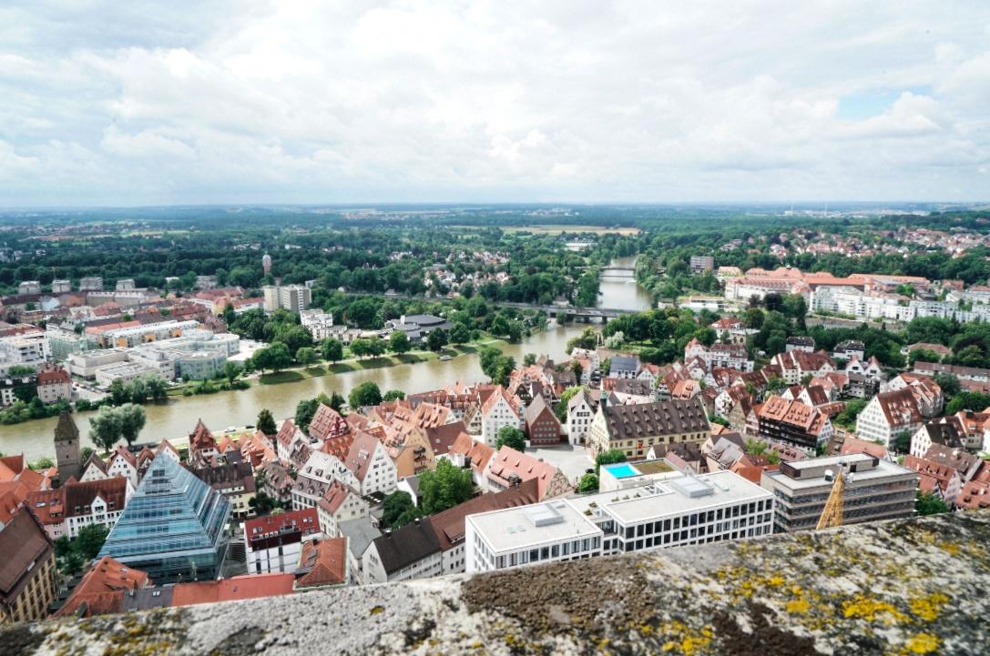 Aussicht-Ulm-Münster