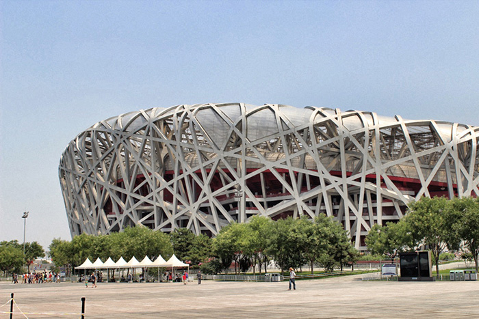 Das-Vogelnest---Nationalstadium-Peking