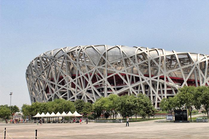 Das-Vogelnest---Nationalstadium-Peking