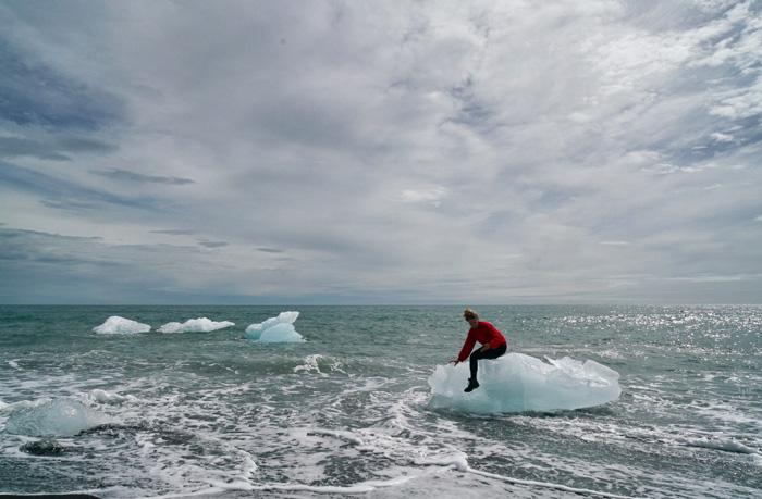 Island-Eisberge