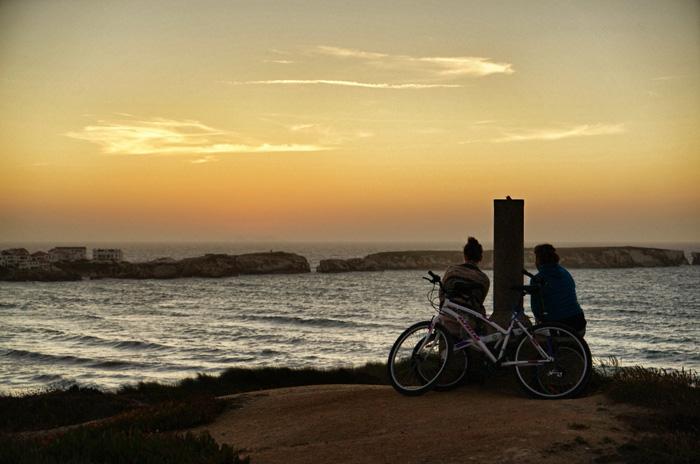 Peniche-Sonnenuntergang