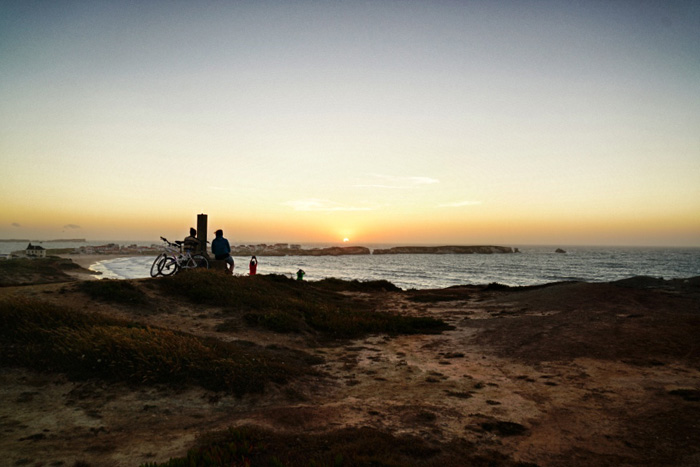 Portugal-Sonnenuntergang