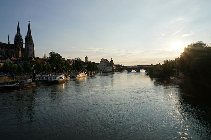Regensburg-Insidertipps-Sonnenuntergang