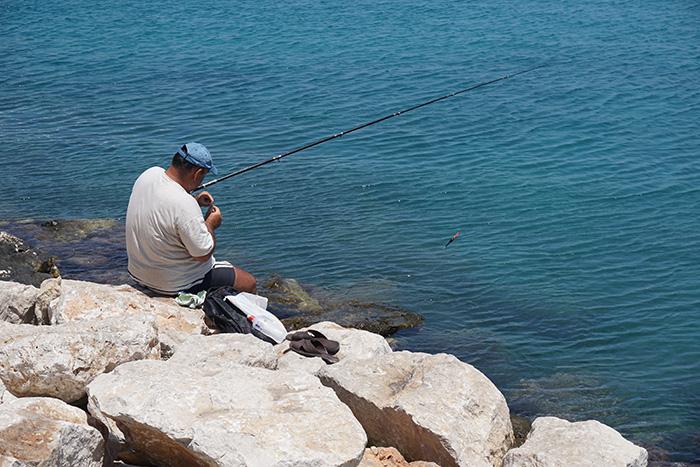 Rhodos-Stadt-Angler