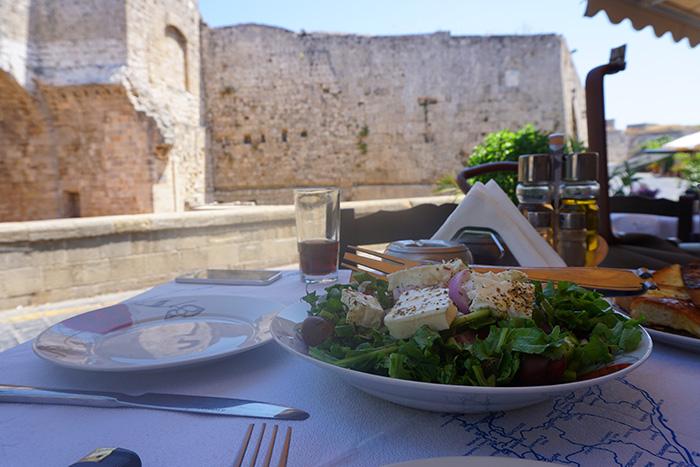 Rhodos-Stadt-Salat