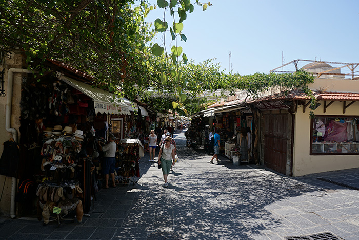 Rhodos-Stadt-Shopping