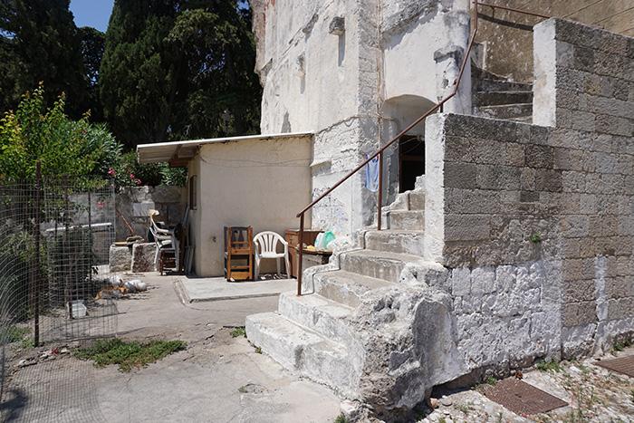 Rhodos-Stadt-Wohnhaus