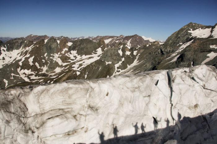Sommerurlaub in Osttirol__Gletscherspalte Wanderung