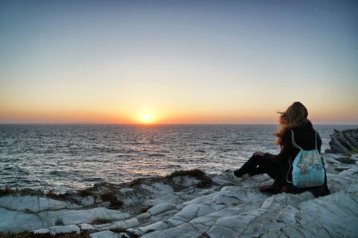 Sonnenuntergang-Peniche