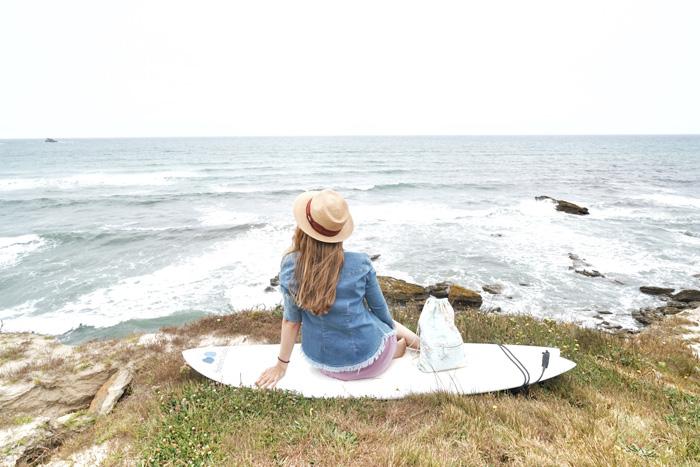 Surfing-peniche