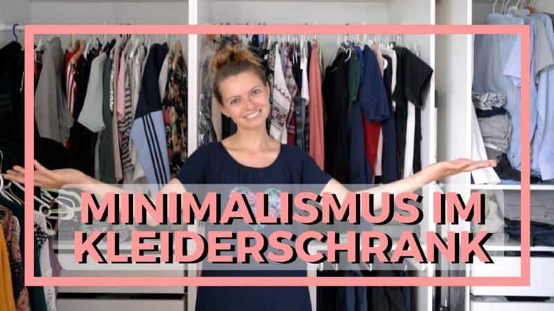 Minimalismus im kleiderschrank ordnung schaffen um for Minimalistisch leben blog