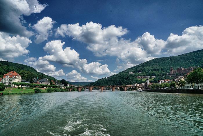 Bootsfahrt-Heidelberg