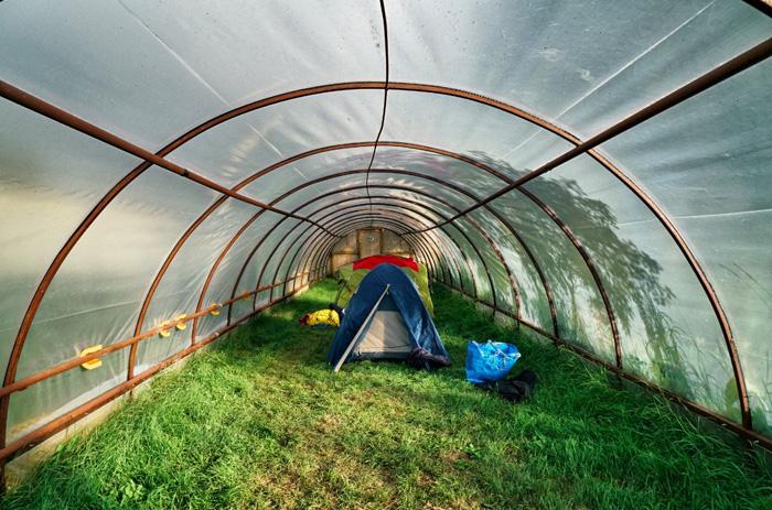 Camping-Gewächshaus-Island