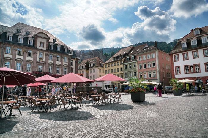 Heidelberg-Marktplatz