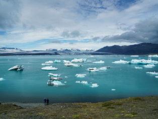 Island-Eislagunge