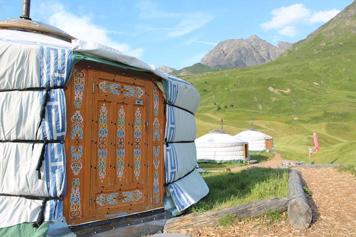 Jurte Bunt Alp Flix