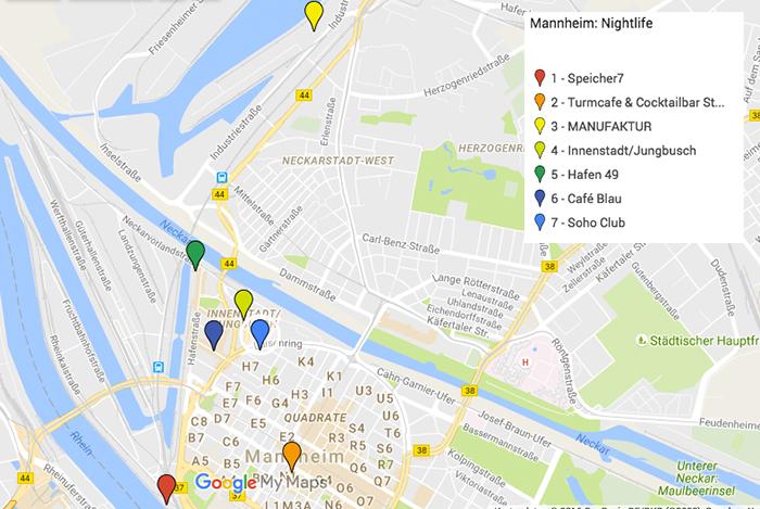 Mannheim Sehenswürdigkeiten: Nightlife