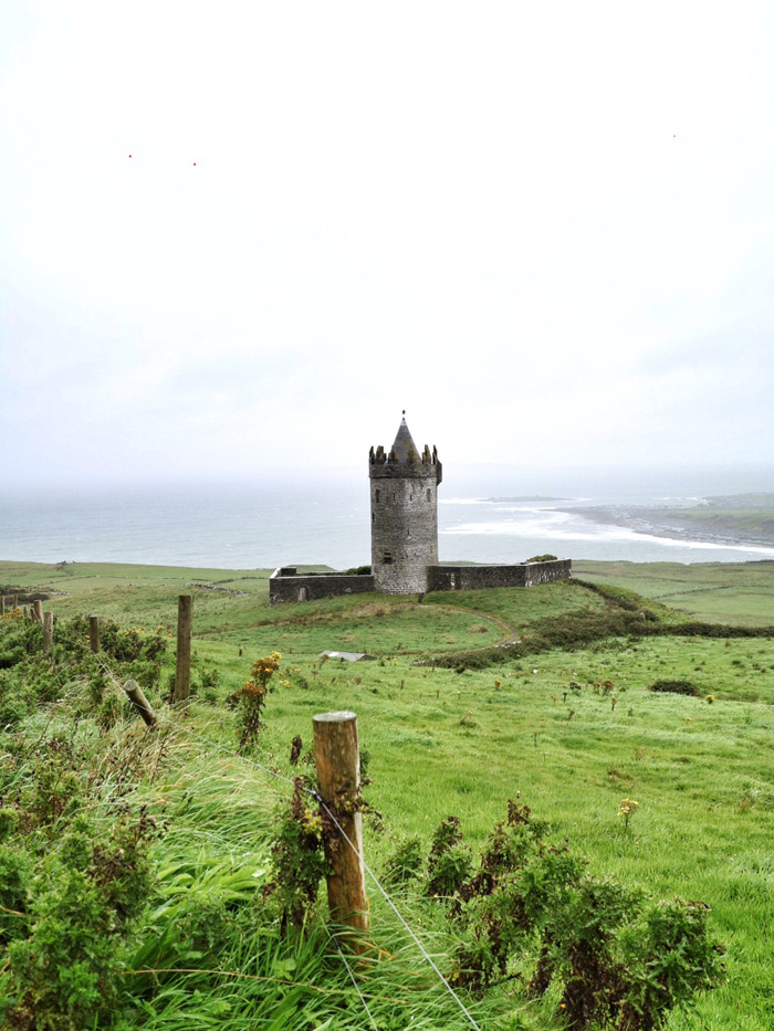 Irland-Burg