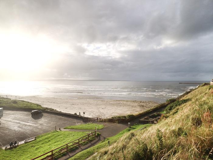 Sonnenuntergang-Irland