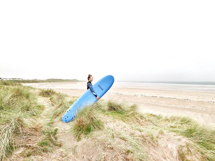 Sufer-Irland-Strand