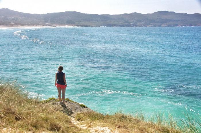 Surfen in Galizien-santa-comba