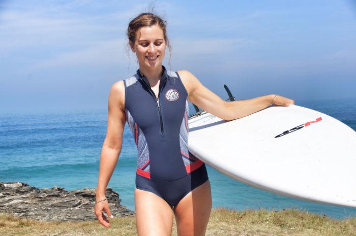Surfen in Galizien-wetsuit