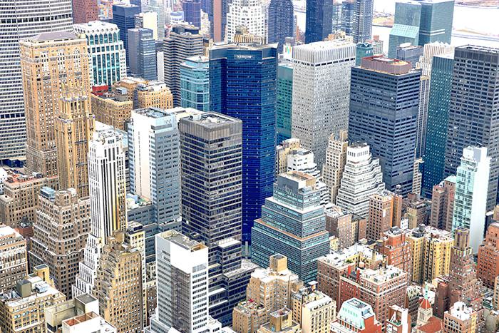 aussicht-empire-state-building-new york kurztrip