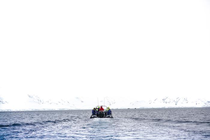 antarktis-boot