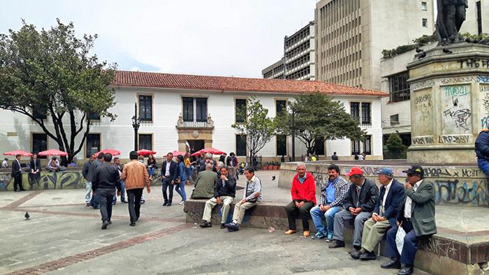 Schüttelt, um Gewicht zu verlieren Bogota